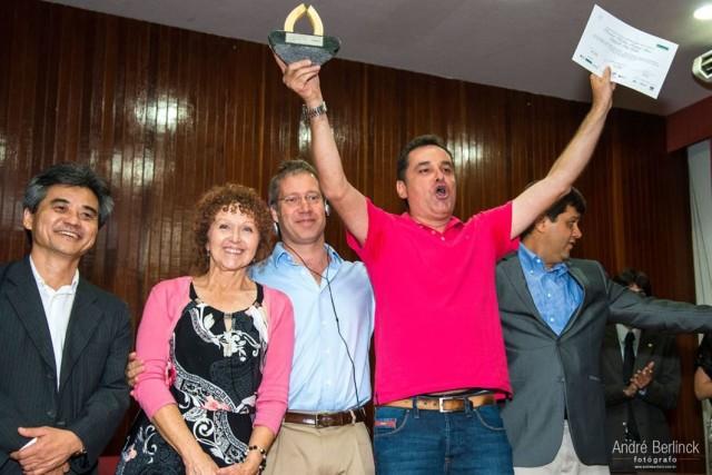 Cândido Vladimir Ladeia Rosa, da Chácara Ouro Verde, levou o primeiro lugar da competição