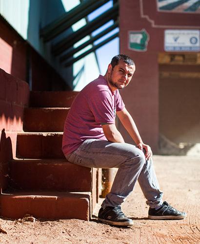 O barista brasileiro, Lucas Salomão, vencedor do Campeonato de Brewers 2013, também participou da visita