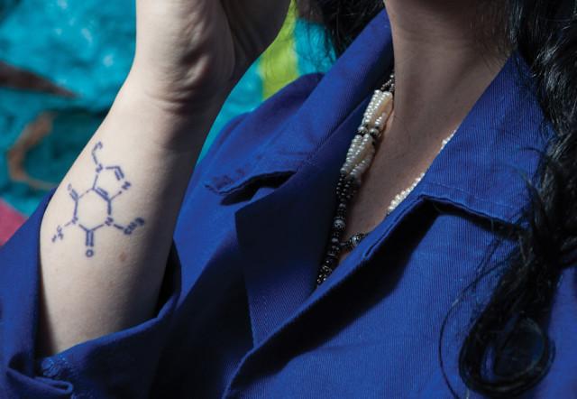 Tatuagem Isabela Raposeiras