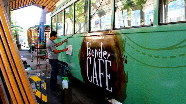 Bonde do café - Museu de Santos -2