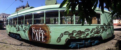 Bonde do café - Museu de Santos