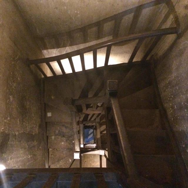Escadaria que desce para a Nove de Julho. A área vai contar com exposição de arte